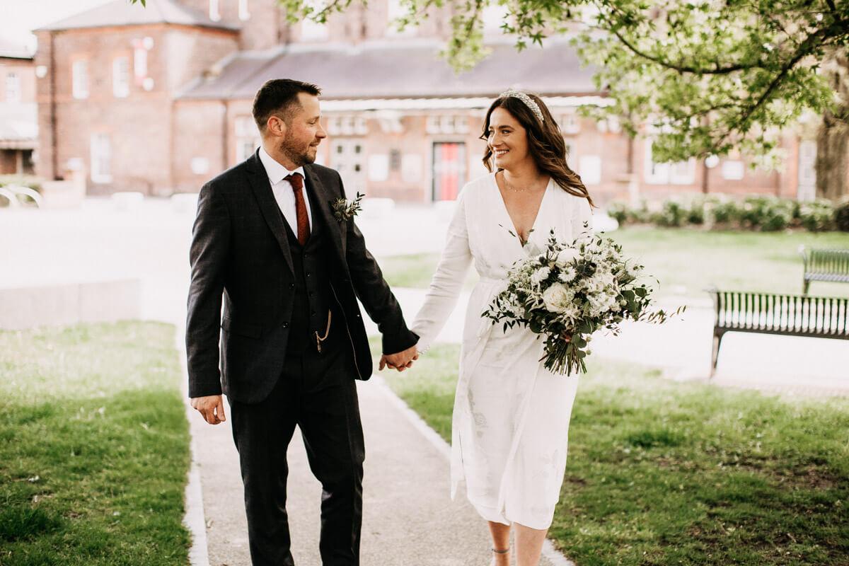 Natural wedding photography Cheshire