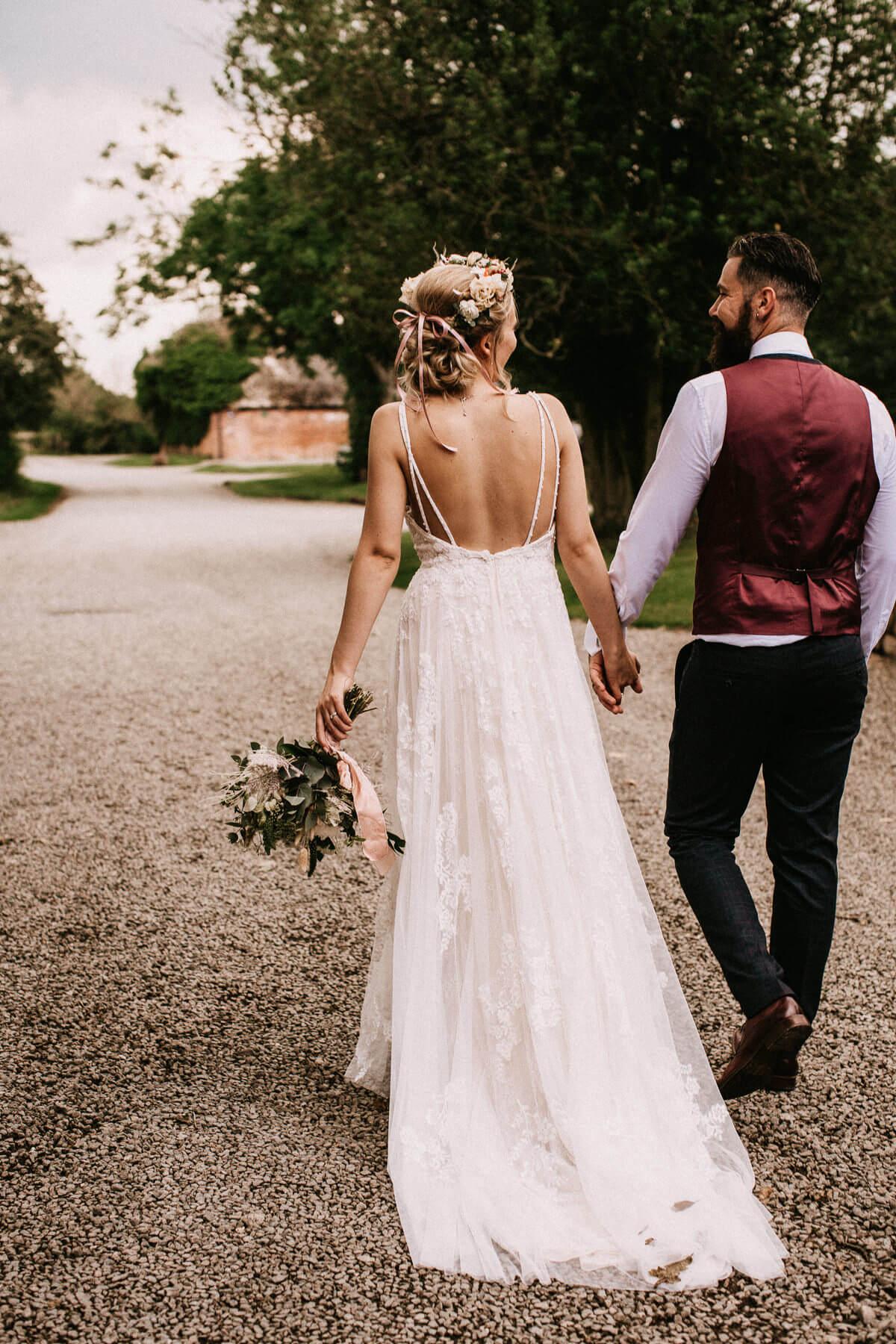 Natural wedding photography Shustoke Barn