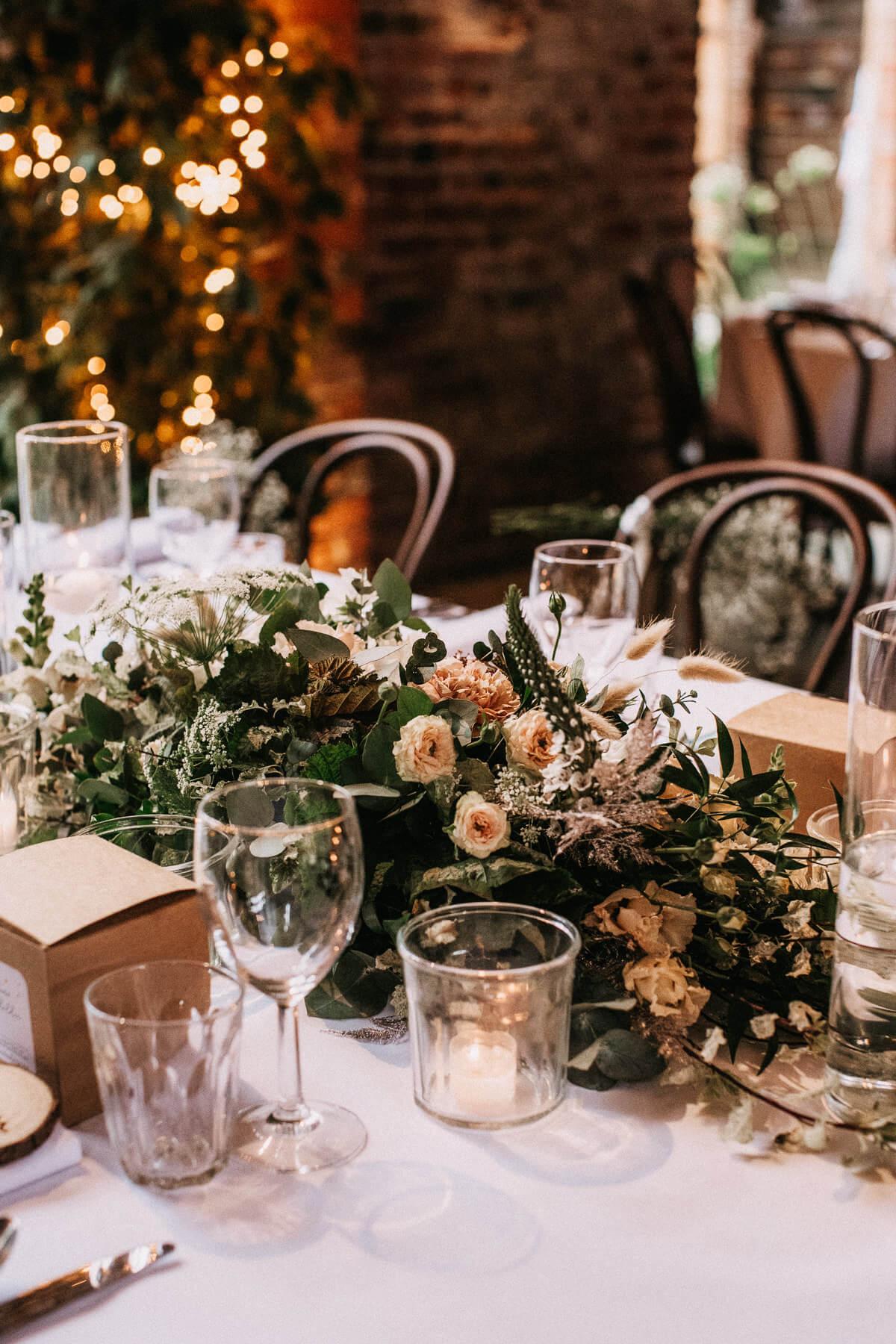 Rustic barn wedding details